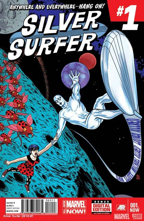 Allred Cover to Silver Surfer #1