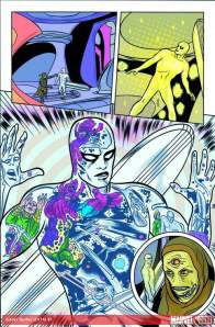 Silver Surfer interior art