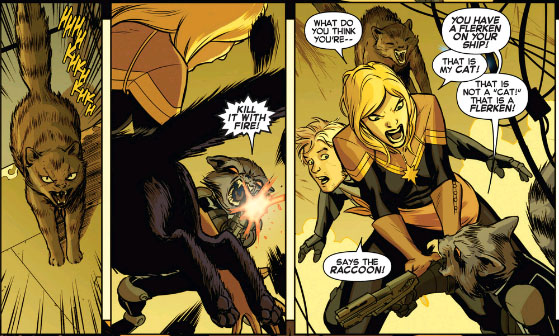 Captain Marvel #2 int. page